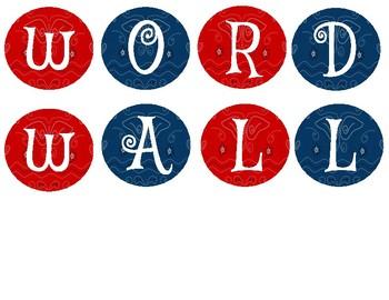Western Bandana Word Wall