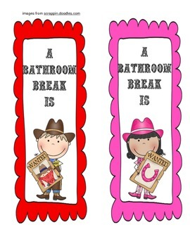 Western Bathroom Passes
