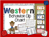 Western Behavior Clip Chart