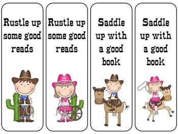 Western Bookmarks