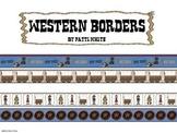 Western Bulletin Board Borders