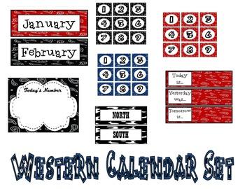 Western Calendar Set