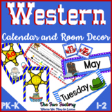 Classroom Decor Activities  Western Theme | Editable Name Cards