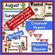 Classroom Decor Activities  Western Theme | Editable Name Cards