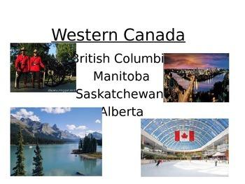 Western Canada-including Prarie Provinces
