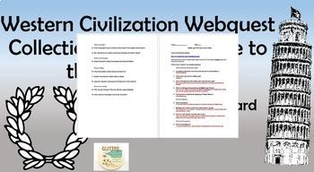 Western Civilization Webquest Collection: Ancient Greece to the Renaissance