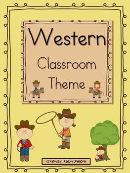Western Classroom Theme 100+ pages