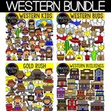 Western Clipart Bundle {Cowboy Clipart}