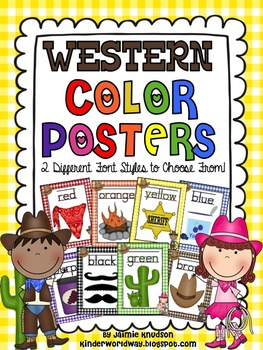 Western Color Posters!
