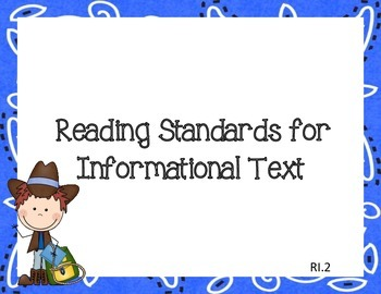 Western Common Core I Can Statements ELA Grade 2
