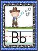 Western Cowboy Alphabet Line