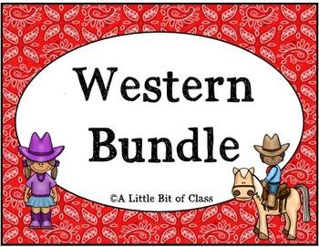 Western/Cowboy Classroom Decor Bundle