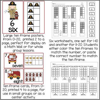 Ten Frames Pack