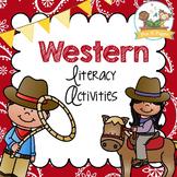 Western Cowboy Literacy Activities