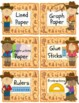 Western / Cowboy Theme Classroom Supply Labels