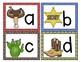 Western Cowboy Themed Alphabet Match-Up