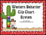 Western Cowboy Themed Behavior Clip Chart System {Classroom Decor}