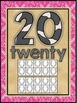 Western Cowboy Themed Classroom Decor Number Word Posters (11-20)