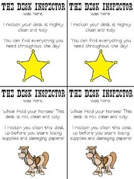 Western Desk Inspector
