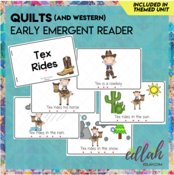 Western Early Emergent Reader