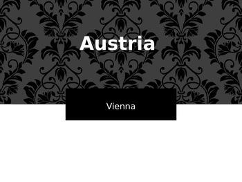 Western Europe Capitals