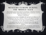 Western Europe During the Middle Ages(Feudal System)
