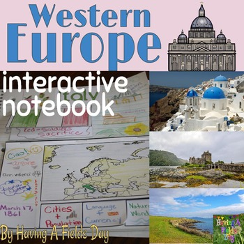 Western Europe Interactive Notebook