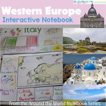 Western Europe Interactive Notebook