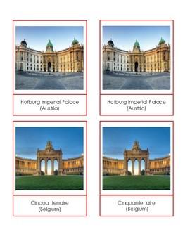 Western Europe Landmark Cards