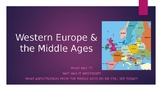 Western Europe, Middle Ages & Renaissance Powerpoint!
