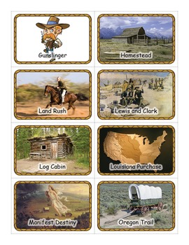 Westward Expansion Flashcards