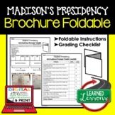 Western Expansion Activity, Western Expansion Foldable, James Madison Presidency