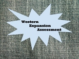 Western Expansion Assessment