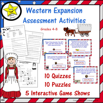 Western Expansion Assessment Activities