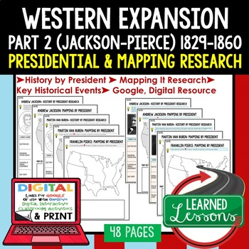 Western Expansion & Conflict Presidential Research & Mappi