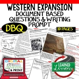 Western Expansion DBQ, Manifest Destiny DBQ, Google and Print
