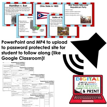 Western Expansion Interactive Guided Notes and PowerPoints American History