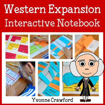 Western Expansion Interactive Notebook with Scaffolded Notes
