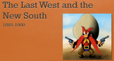 Post-Bellum Western Expansion PPT - APUSH New Framework - Period 6