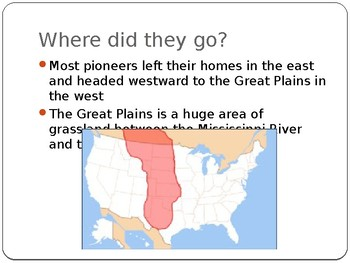 Western Expansion Power Point