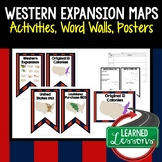 Western Expansion Word Wall Pennants (American History)