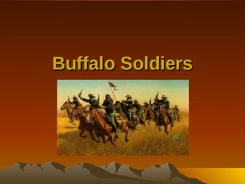 Western Expansion in the United States - Buffalo Soldiers
