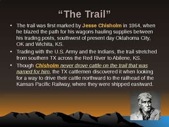 Western Expansion in the United States - The Chisholm Trail