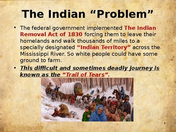 Western Expansion in the United States - Trail of Tears
