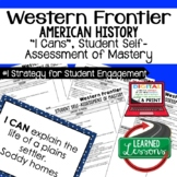 Western Frontier I Cans Student Self Assessment of Mastery