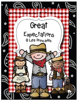 Western Great Expectation 8 Life Principles Posters