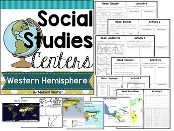Western Hemisphere Social Studies Centers