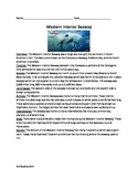 Western Interior Seaway - Dinosaur Ocean - Article Questions Activities