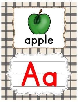 Western Letter Line - (Western Classroom Theme/Decor)