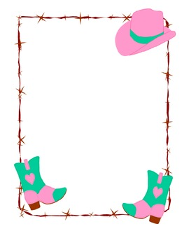 Western Letter Template